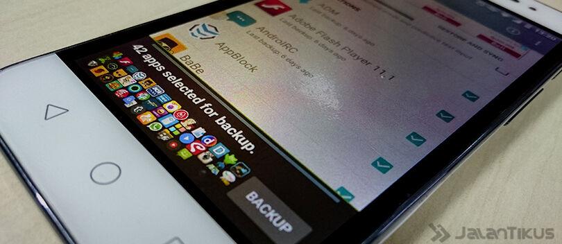 Cara Mudah Backup dan Restore Semua Aplikasi Android Tanpa Root