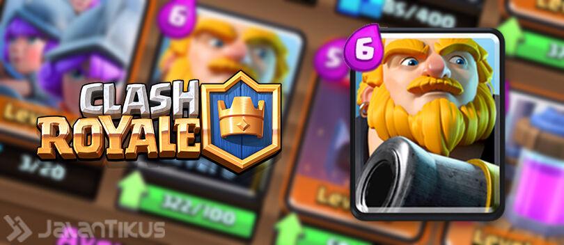 Kombinasi Battle Deck Royal Giant Terbaik di Clash Royale