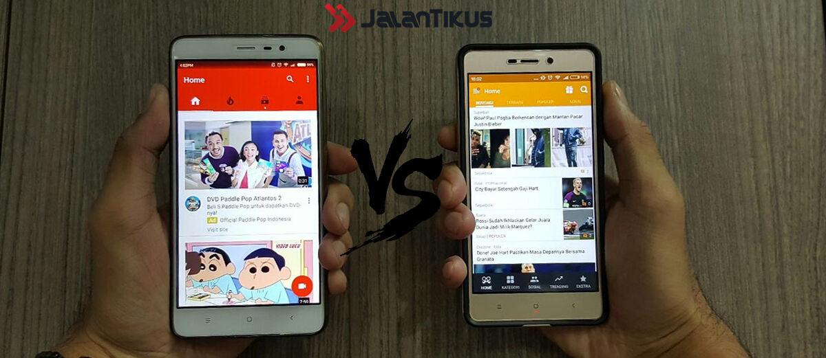 BaBe vs YouTube, Mana yang Lebih Informatif?