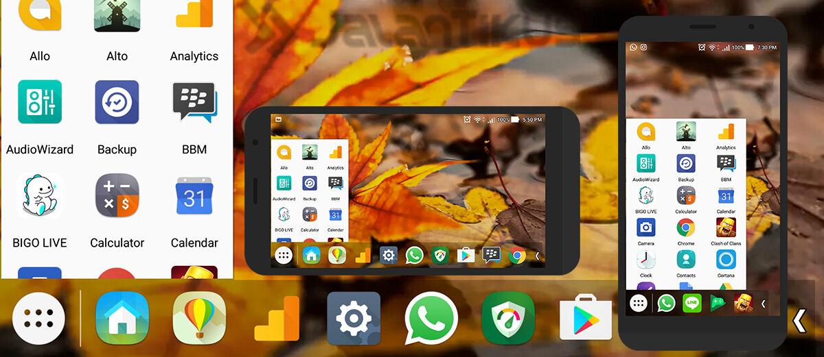 Cara Mengubah Tampilan Android Secanggih Komputer