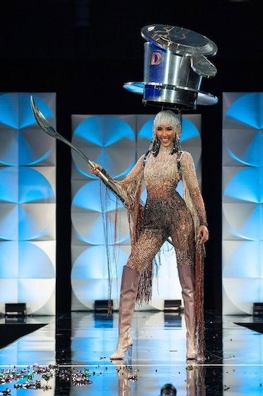 National Costume Miss Universe Indonesia 2020 5b325