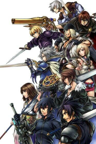 Wallpaper Final Fantasy Phone18 21dba