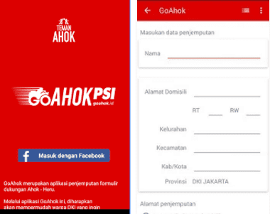 Aplikasi Ahok