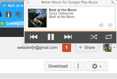 Bettergooglemusic Chrome