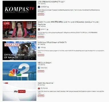 Cara Nonton Tv Di Laptop Gratis 1 0010e