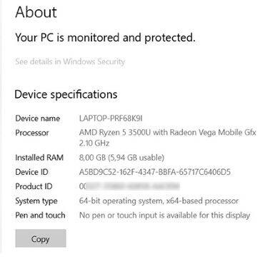 Cara Mengetahui Spesifikasi Laptop B7ea5