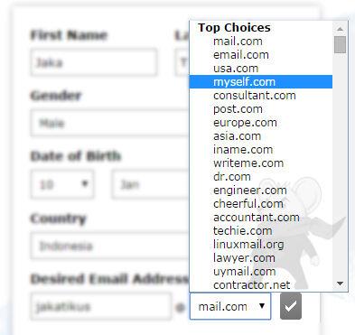 Daftar Email Keren2