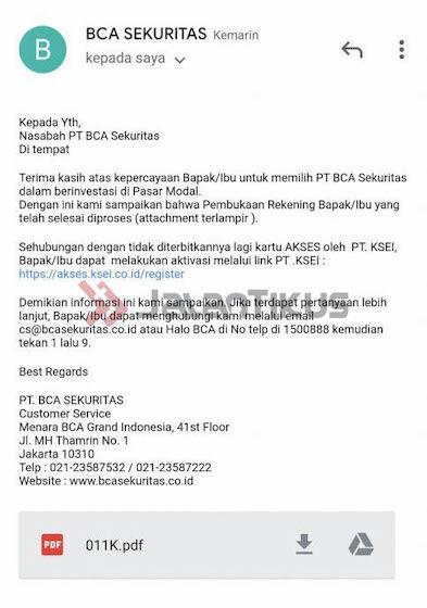 Email Bca Sekuritas Cd321