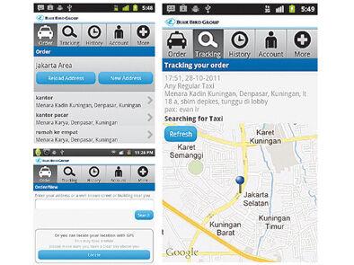 Cara Cepat Mendapatkan Taxi Blue Bird Di Android 2