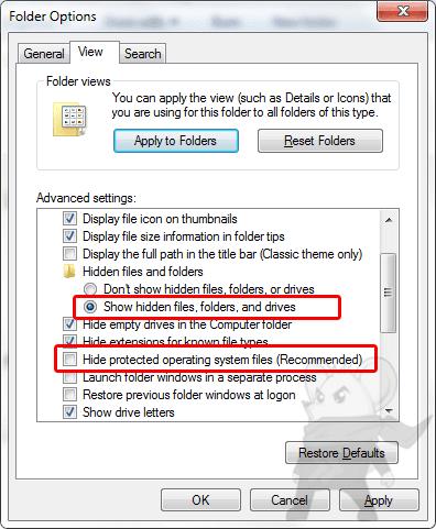 Virus Shortcut2