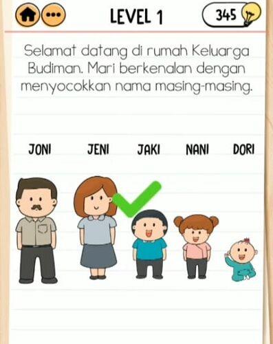 Kunci Jawaban Brain Test 2 Keluarga Budiman 1 2ad18