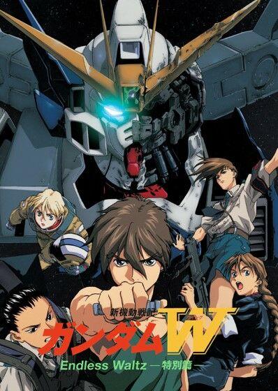 Urutan Gundam Gundam Wing Endless Waltz 44d5a