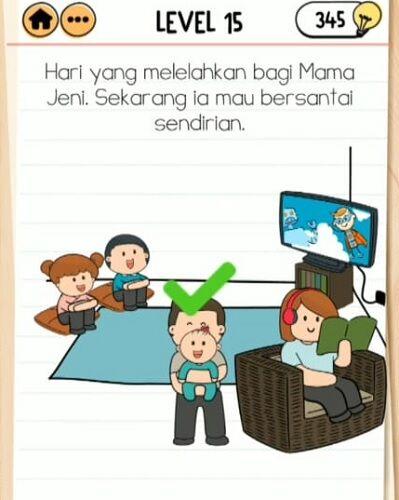 Kunci Jawaban Brain Test 2 Keluarga Budiman 15 E0279