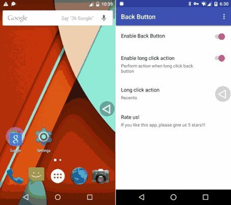 Back Button Apk