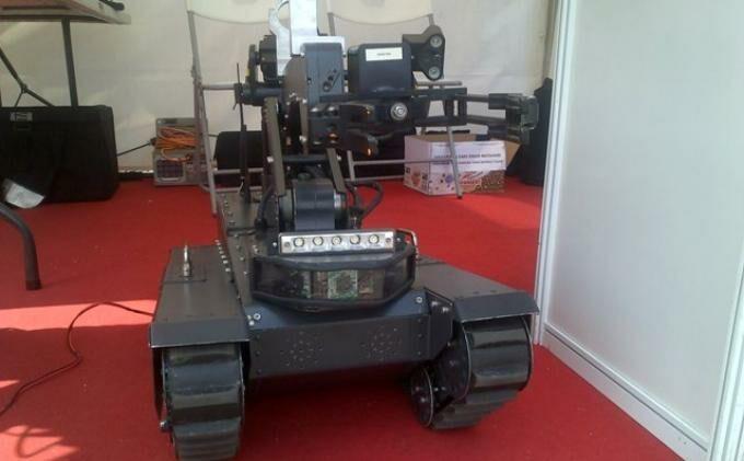 Robot Gegana
