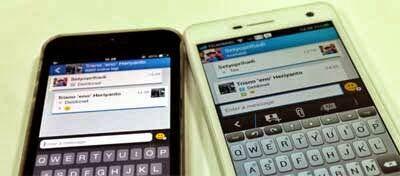 Perbedaan Fitur Bbm Di Android Dan IOS 2