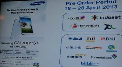 Preorder Samsung Galaxy S4 1