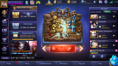 Cara Main Mobile Legends Offline 2