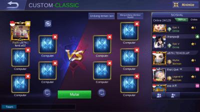 Cara Main Mobile Legends Offline 3