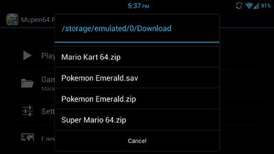 Cara Memainkan Permainan Game Boy Advance Di Android 1