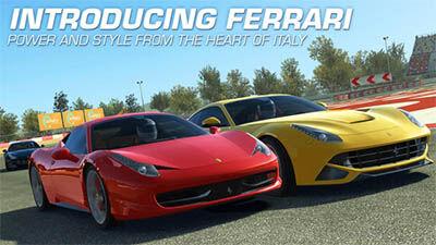 Update Terbaru Real Racing 3 Dengan Tambahan Mobil Ferrari Terbaru