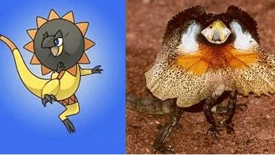 Hewan Dan Tumbuhan Inspirasi Pokemon 1