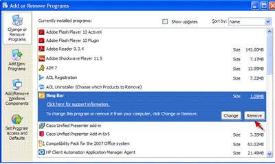 Cara Menghilangkan Pencarian Bing Dari Browser 3