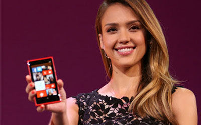 Iklan Smartphone Jessica Alba