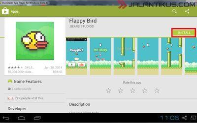 Sekarang Flappy Bird Sudah Bisa Dimainkan Di Pc 4