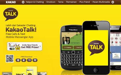 KakaoTalk Telepon Chatting Gratis