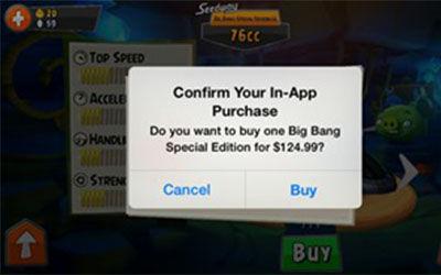 Angry Birds GO! Gunakan Sistem In App Purchase 1