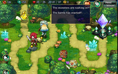 Review Game Fantasy Defense 2 For Android 3
