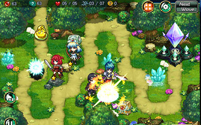Review Game Fantasy Defense 2 For Android 4