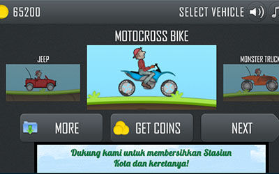 Review Game Hill Climb Racing For Android 1