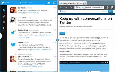 Twitter Merilis Twitter For Android Tablet 1