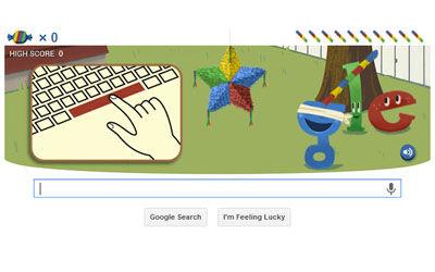 Google Doodle Edisi Ulang Tahun Google 2