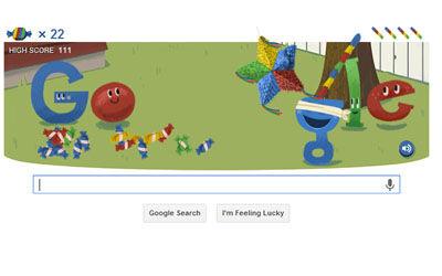 Google Doodle Edisi Ulang Tahun Google 3
