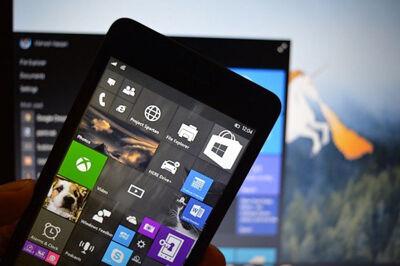 Bocoran Screenshot Live Tiles Windows 10 For Phone