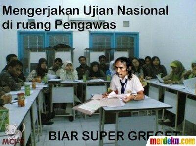 Meme Ujian Nasional 23