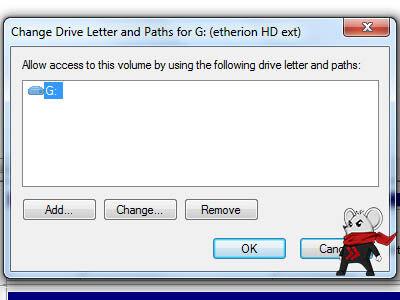 Cara Mengubah Drive Letter Harddisk 5