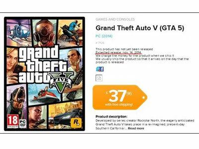 Bocoran Tanggal Rilis GTA 5 Di PC