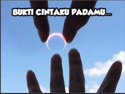 Meme Gerhana Matahari 2