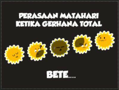 Meme Gerhana Matahari 3
