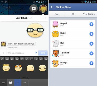 Facebook Messenger Stickers 1