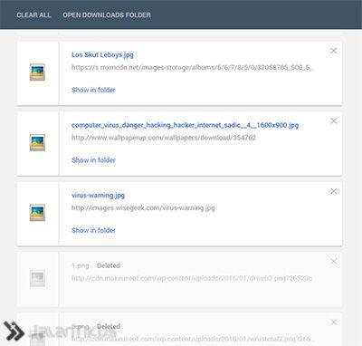 Chrome Material Design 7
