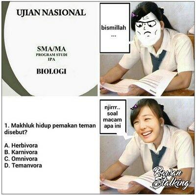 Meme Ujian Nasional 11