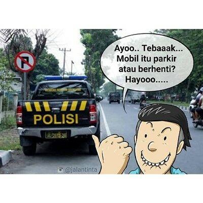 Meme Stop Parkir 2