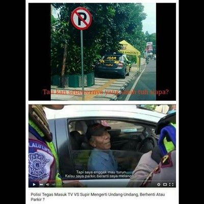 Meme Stop Parkir 7
