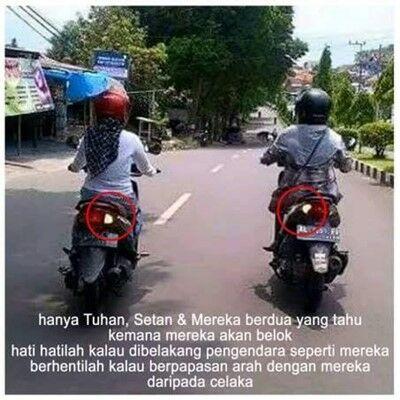 Meme Ibu Ibu Naik Motor 6