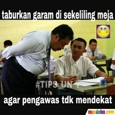 Meme Ujian Nasional 22